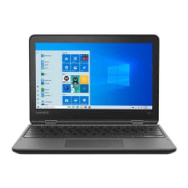 Oferta de Laptop Lenovo Chromebook 300e CEL N4120 4 GB RAM  64 GB eMMC por $5999