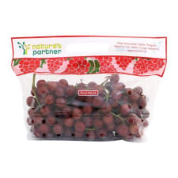 Oferta de Uva roja sin semilla por kilo por $54