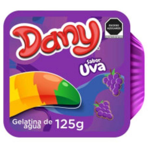 Oferta de Gelatina de agua Dany sabor uva 125 g por $3.25