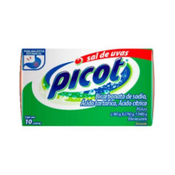 Oferta de Sal de uvas Picot caja con 10 pzas por $36