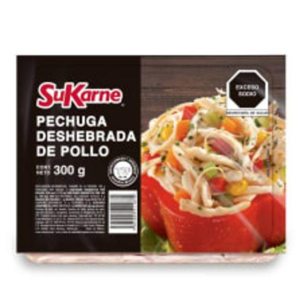 Oferta de Pechuga de pollo SuKarne deshebrada 300 g por $54