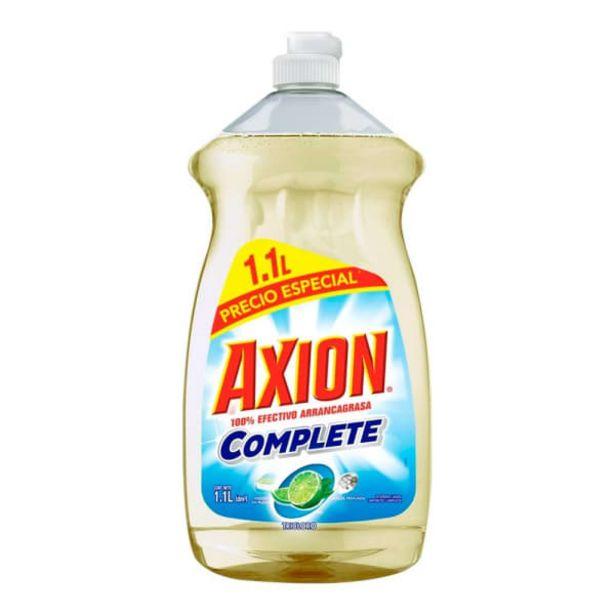 Oferta de Lavatrastes líquido Axion complete tricloro 1.1 l por $59.5