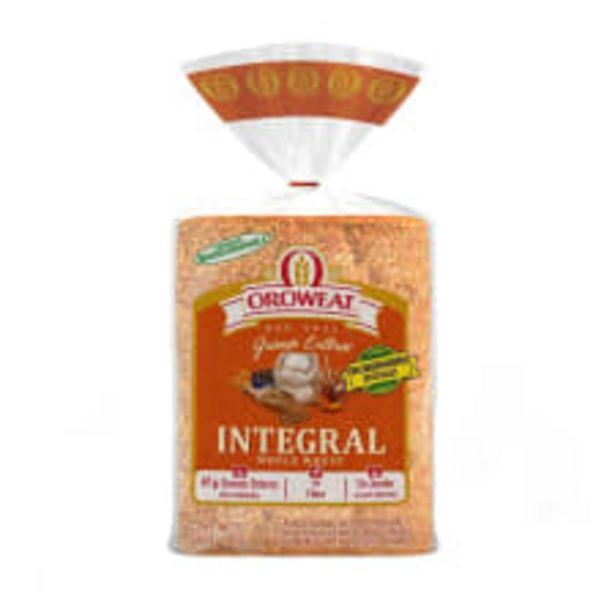 Oferta de Pan integral Oroweat 680 g por $56.5