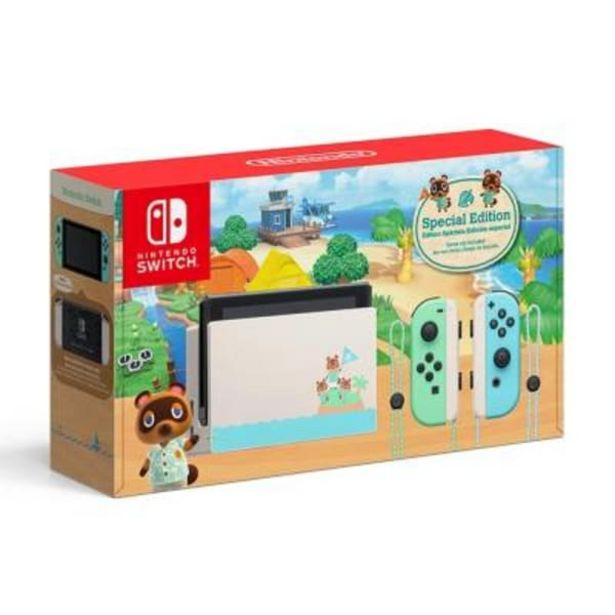 Oferta de Consola Nintendo Switch 1.1 Edición Especial Animal Crossing por $7690