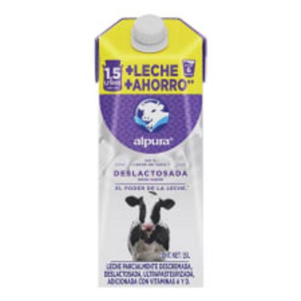 Oferta de Leche Alpura deslactosada 1.5 l por $35.7