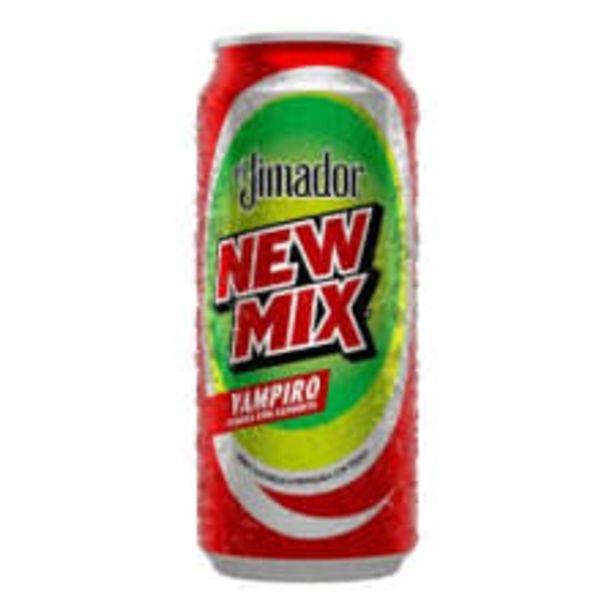 Oferta de Bebida alcohólica preparada New Mix El Jimador vampiro 473 ml por $21.95