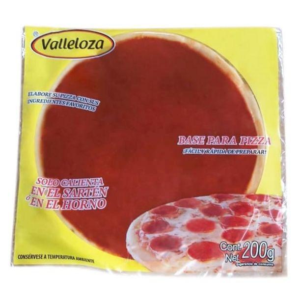 Oferta de Base para pizza Valleloza 200 g por $29.9