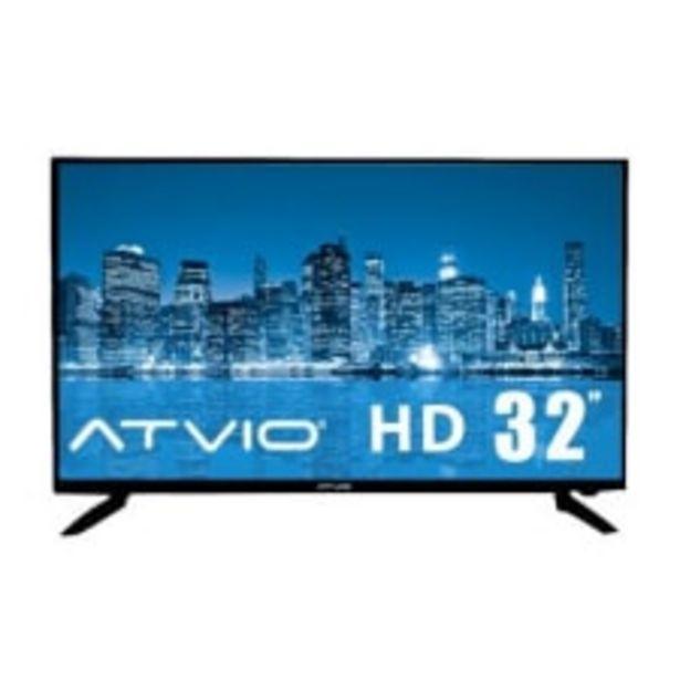 Oferta de TV Atvio 32 Pulgadas 720p HD LED ATV32 por $3599