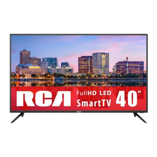 Oferta de TV RCA 40 Pulgadas Full HD  Smart TV LED RTV40P28NF por $4399