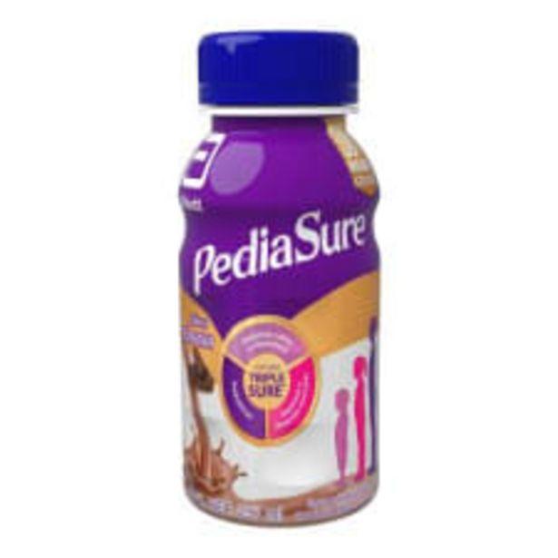 Oferta de Fórmula para alimentación PediaSure enteral especializada sabor chocolate 237 ml por $47