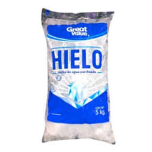 Oferta de Hielo Great Value 5 kg por $24