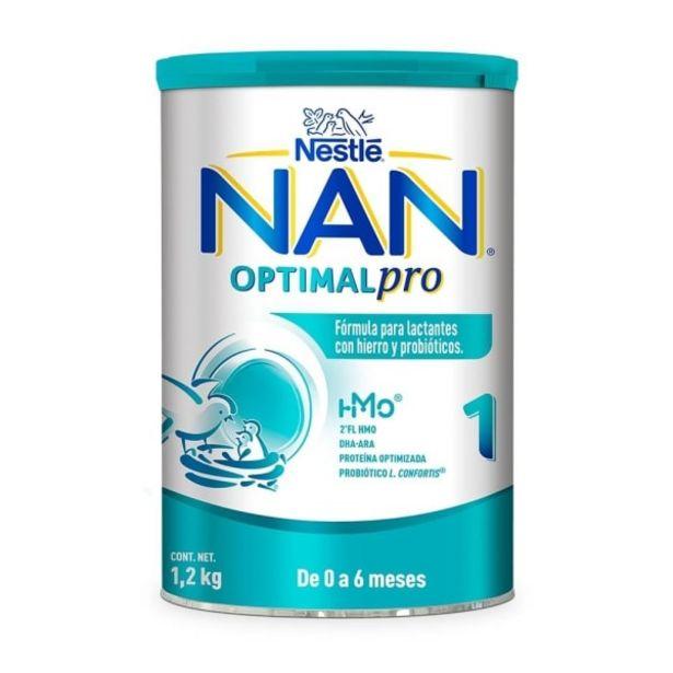 Oferta de Fórmula para lactantes Nan optimal pro 1 de 0 a 6 meses 1.2 kg por $399