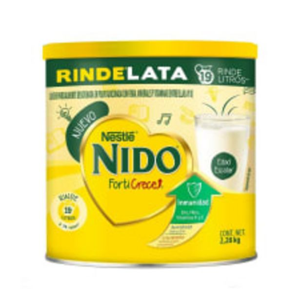 Oferta de Leche en polvo Nido Forti Crece parcialmente descremada 2.28 kg por $271