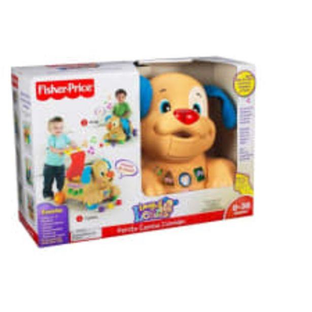 Oferta de Perrito Camina Conmigo Fisher Price Mattel Café por $999
