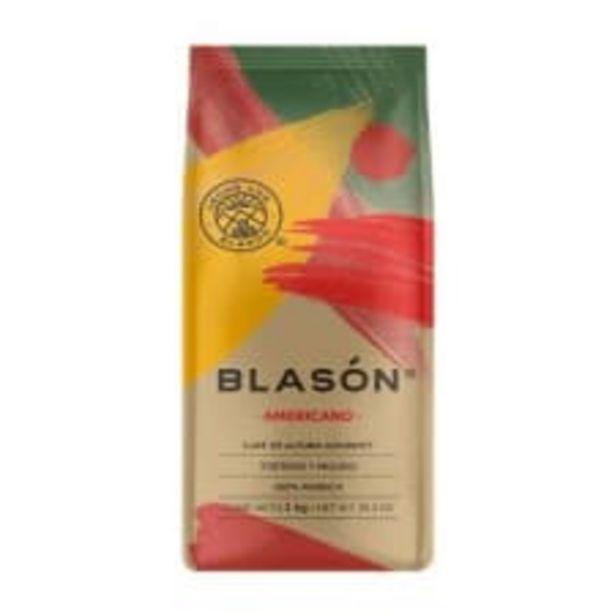 Oferta de Café Blasón Gourmet americano tostado y molido 1 kg por $208