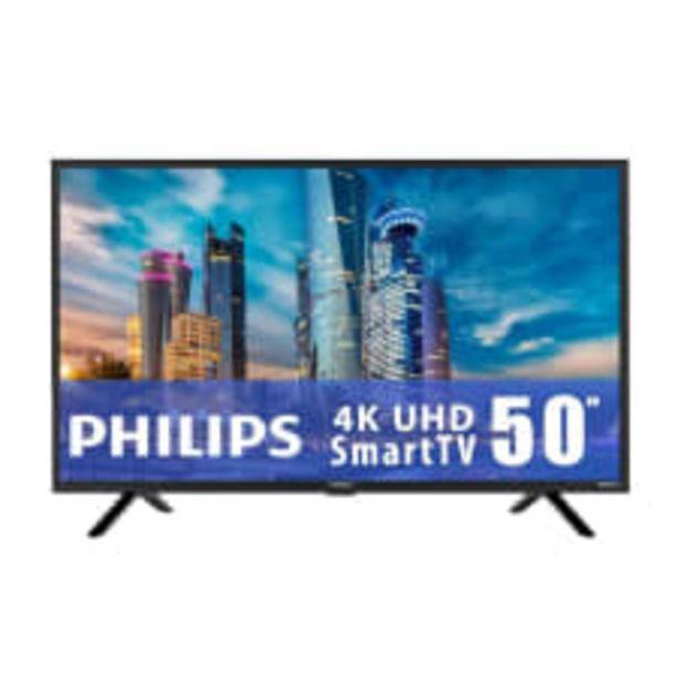 Oferta de TV Philips 50 Pulgadas 4K Ultra HD Smart TV LED 50PFL5765/F8 por $9399