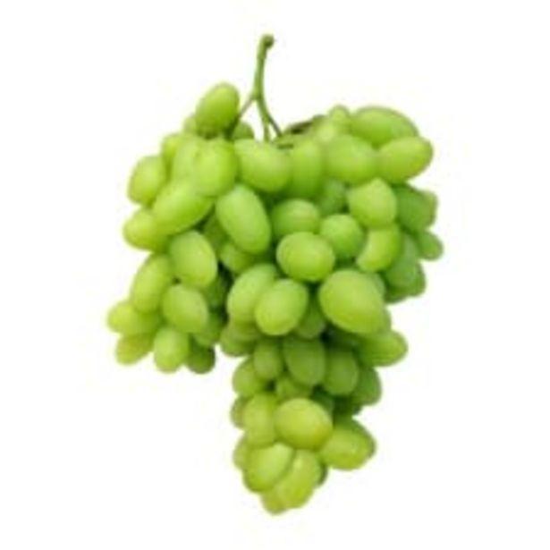 Oferta de Uva blanca sin semilla por kilo por $89