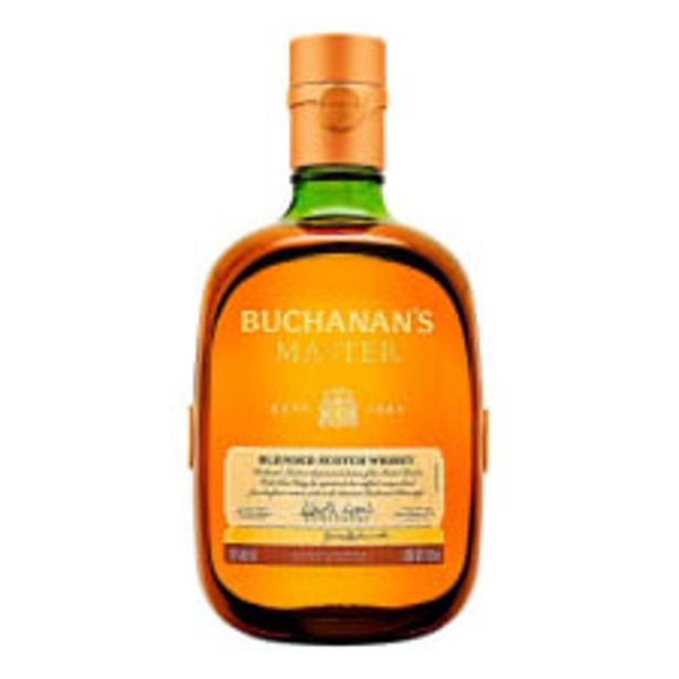 Oferta de Whisky Buchanan's Master Escocés 750 ml por $959