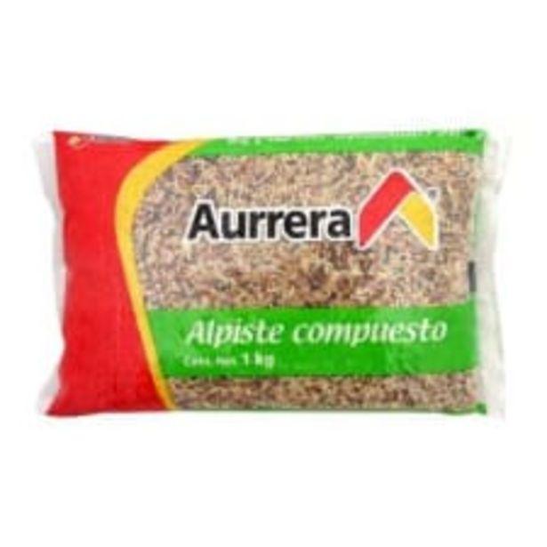 Oferta de Alimento para Ave Aurrera Alpiste Compuesto 1 Kg por $38