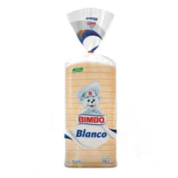 Oferta de Pan blanco Bimbo 460 g por $32.5
