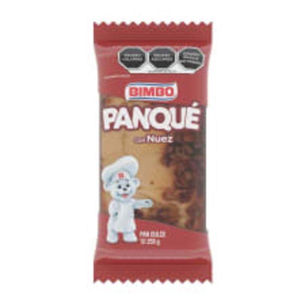 Oferta de Panqué Bimbo con nuez 255 g por $27.4