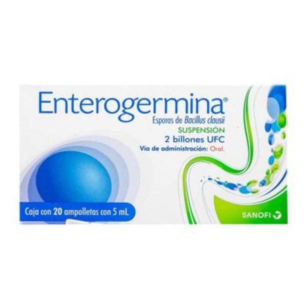 Oferta de Enterogermina 2 billones UFC suspensión 20 ampolletas con 5 ml c/u por $363