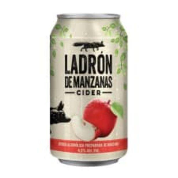 Oferta de Bebida alcohólica preparada Ladrón de manzanas manzana 355 ml por $11.95