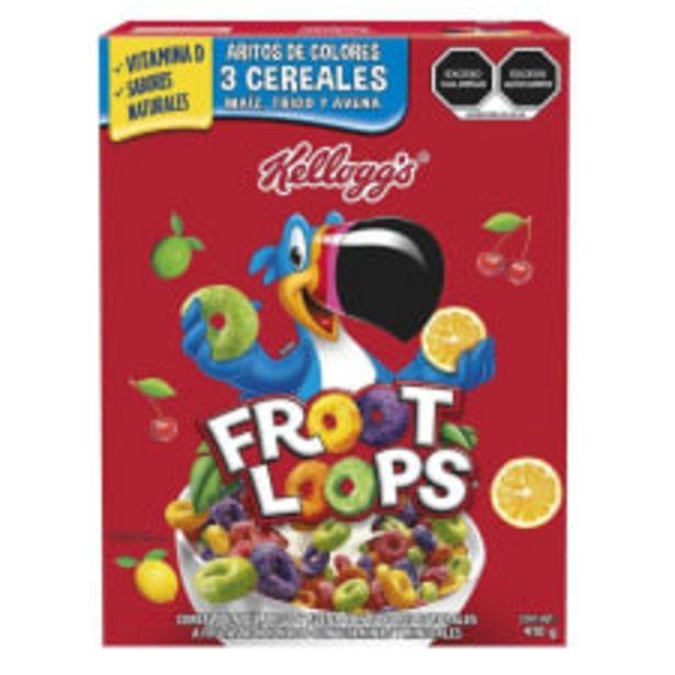 Oferta de Cereal Kellogg's Froot Loops sabor a frutas 410 g por $75