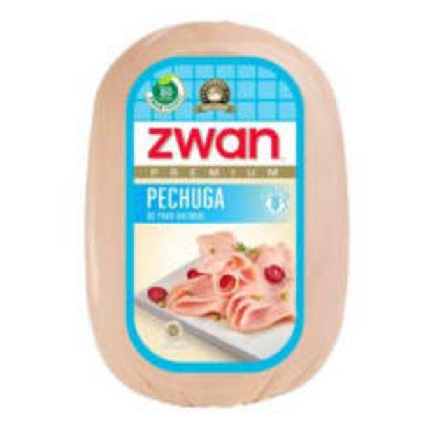 Oferta de Pechuga de pavo Zwan premium natural por kg por $282