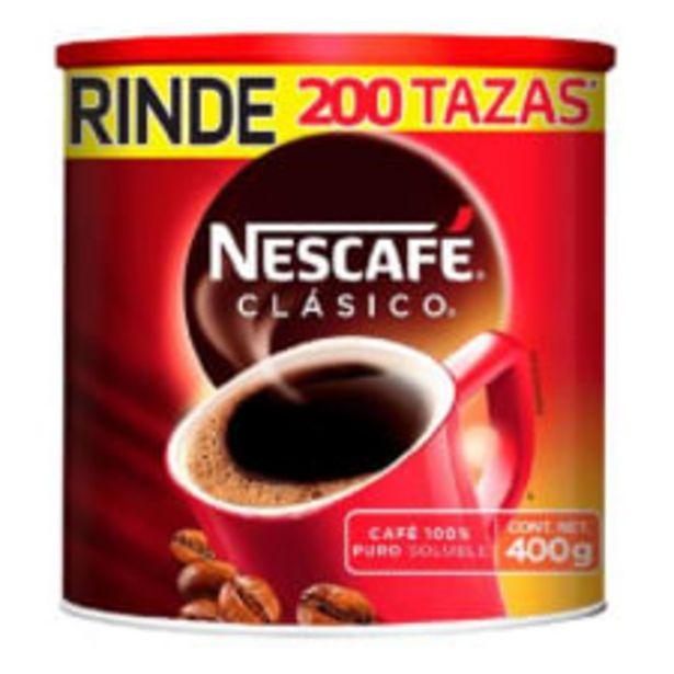 Oferta de Café soluble Nescafé clásico 400 g por $156