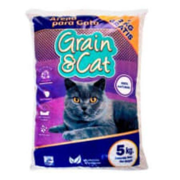 Oferta de Arena para Gato Grain & Cat 5 más 2 kg por $91
