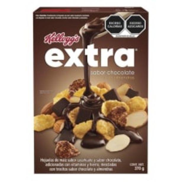 Oferta de Cereal Kellogg's Extra chocolate con almendras 370 g por $52