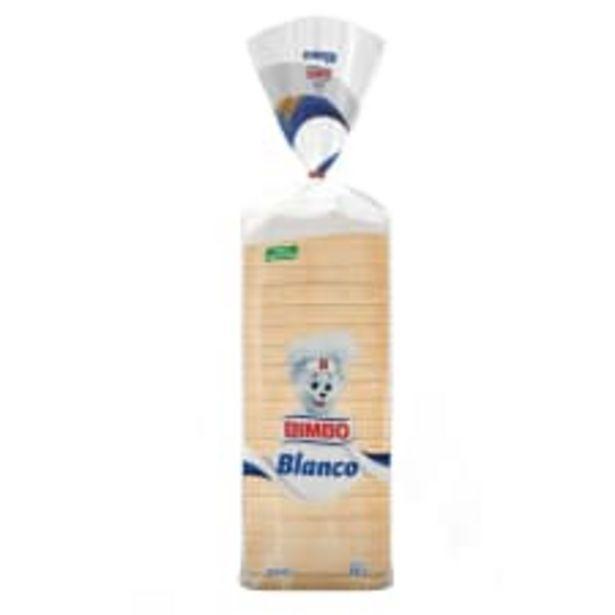 Oferta de Pan blanco Bimbo 680 g por $37.9