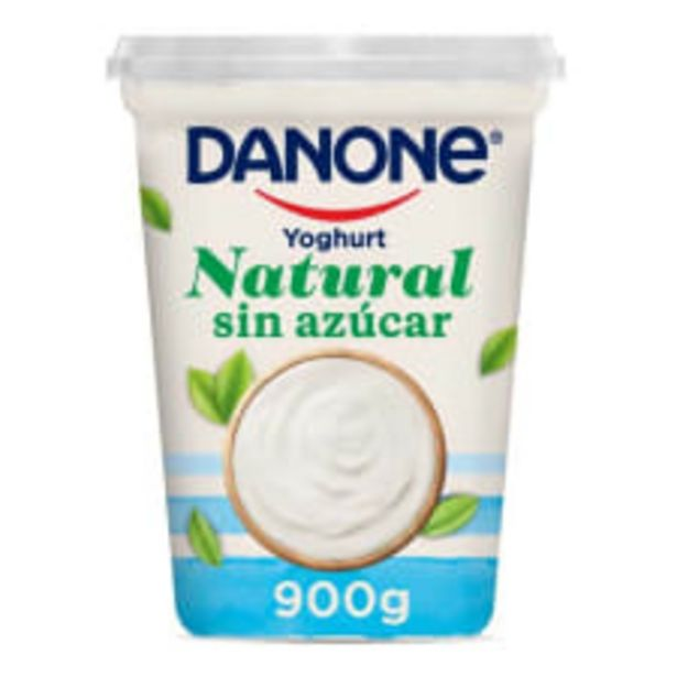Oferta de Yoghurt Danone natural sin azúcar 900 g por $33.5