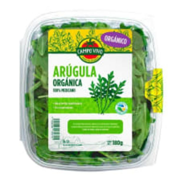 Oferta de Arúgula orgánica Campo Vivo 180 g por $69