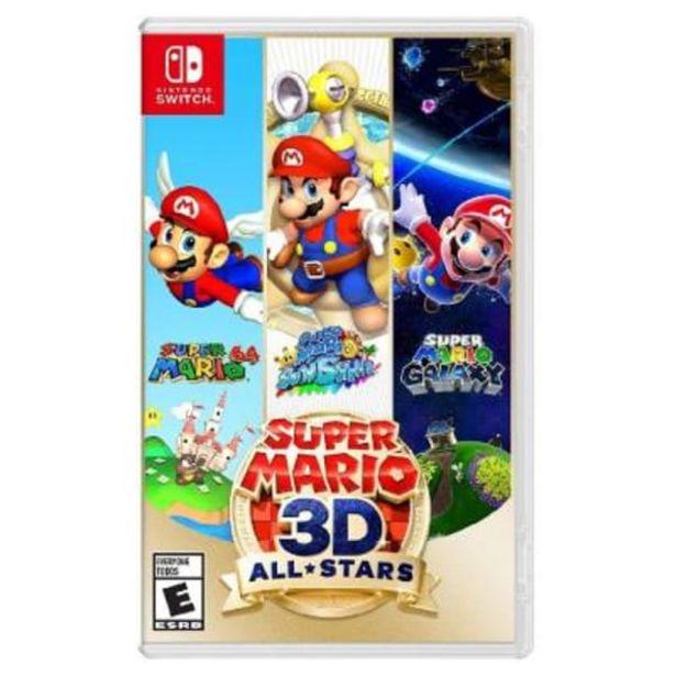 Oferta de Super Mario Nintendo Switch 3D All Stars por $1149