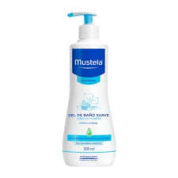 Oferta de Gel de baño Mustela suave para cuerpo y cabello piel normal 500 ml por $129