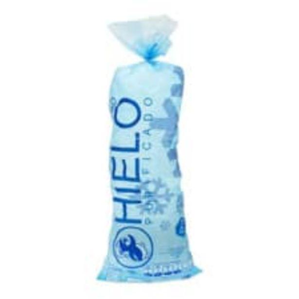 Oferta de Bolsa de hielo Pingüino purificado 3 kg por $12.9