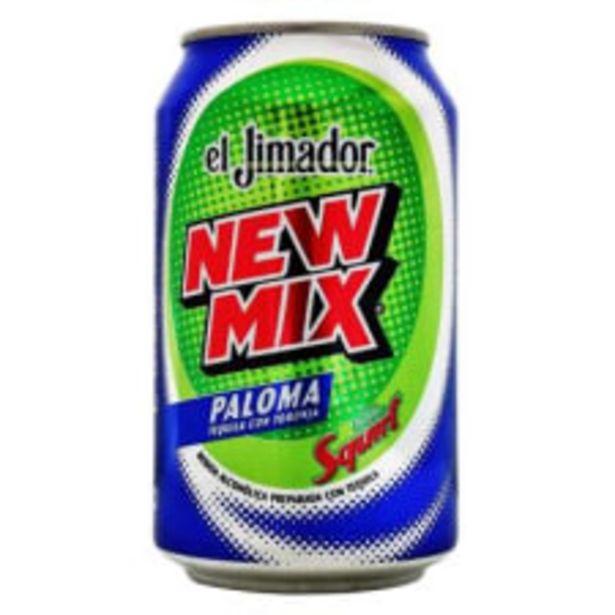 Oferta de Bebida alcohólica preparada New Mix El Jimador paloma 350 ml por $16.7