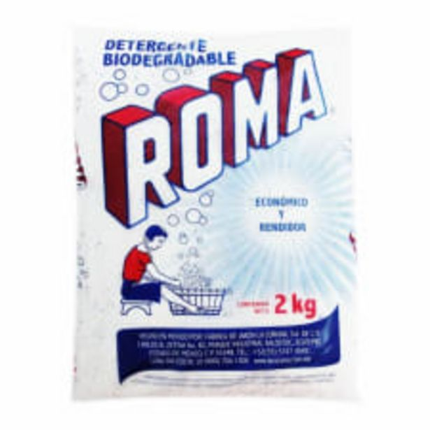 Oferta de Detergente en polvo Roma multiusos biodegradable 2 kg por $72
