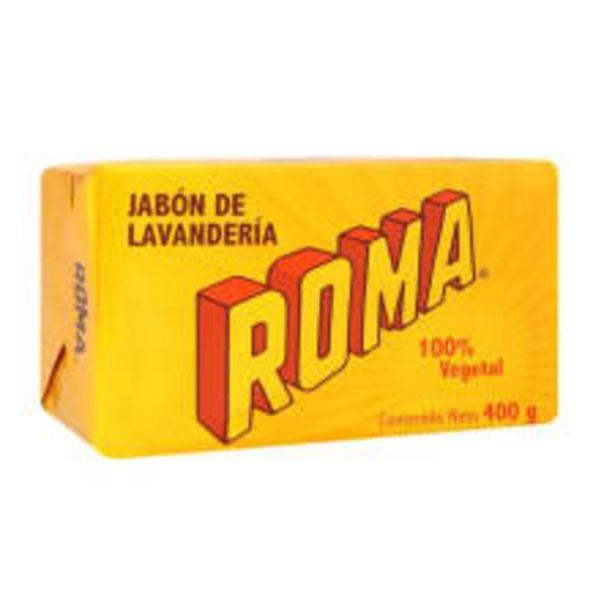 Oferta de Jabón de lavandería Roma 400 g por $20