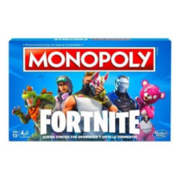 Oferta de Juego de mesa Monopoly Fortnite por $349