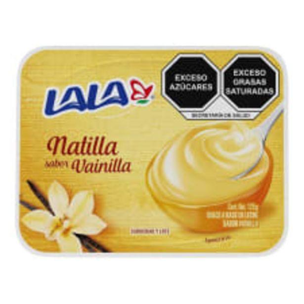 Oferta de Natilla Lala sabor vainilla 125 g por $6