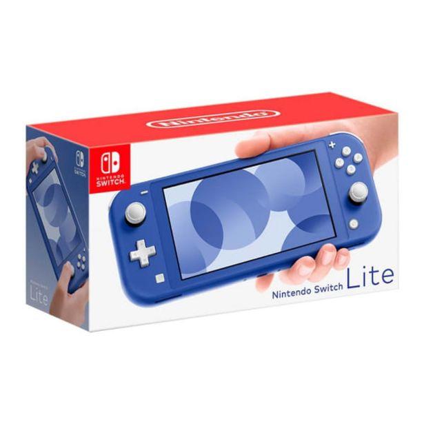 Oferta de Consola Nintendo Switch Lite Azul por $5690