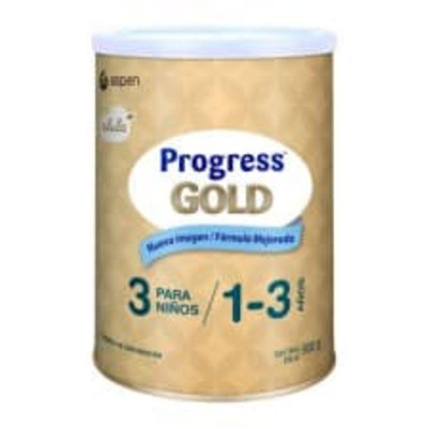 Oferta de Fórmula de continuación Progress Gold etapa 3 de 1 a 3 años 900 g por $210