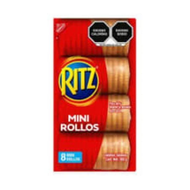 Oferta de Galletas saladas Ritz mini 308 g por $33