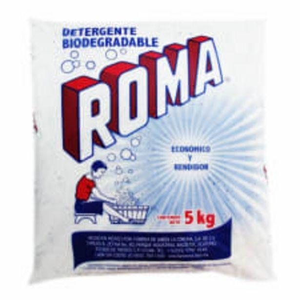 Oferta de Detergente en polvo Roma multiusos biodegradable 5 kg por $185