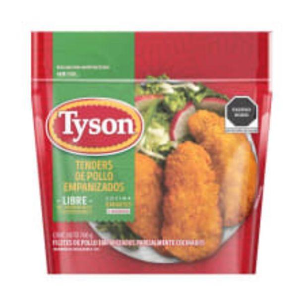 Oferta de Tenders de pollo Tyson empanizados  parcialmente cocinados 700 g por $147