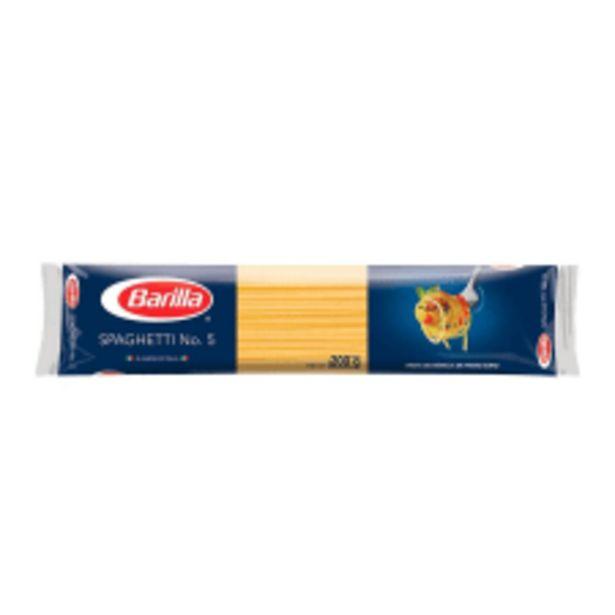 Oferta de Spaghetti Barilla N°5 200 g por $10.5