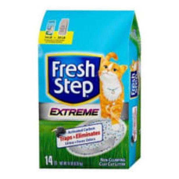 Oferta de Arena para gato Fresh Step Extreme 6.35 kg por $210